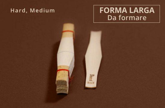 Canna Fagotto Larga da Formare - Medium Hard